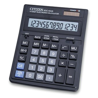 Obrázek produktu Stolní kalkulátor Citizen SDC-554S
