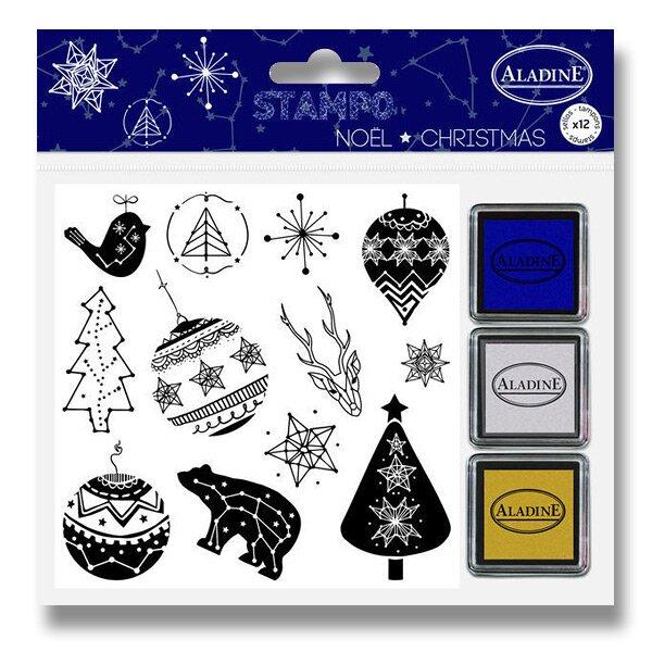 Razítka Stampo Christmas - Vánoční konstelace