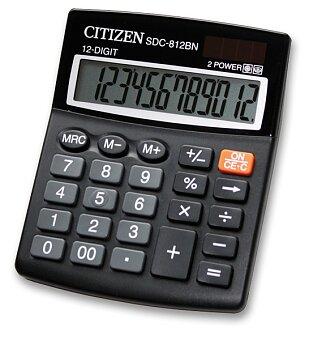 Obrázek produktu Stolní kalkulátor Citizen SDC-812BN