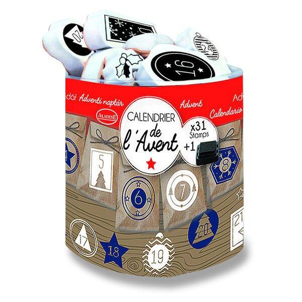 Razítka Stampo Scrap - Adventní kalendář