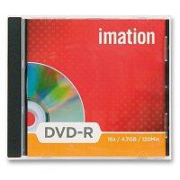 Zapisovatelné DVD Imation DVD-R - 4,7 GB