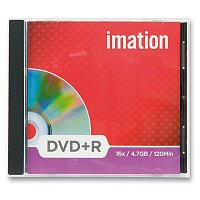 Zapisovatelné DVD Imation DVD+R - 4,7 GB