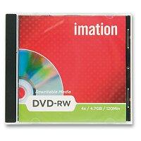Přepisovatelné DVD  Imation DVD-RW- 4,7 GB