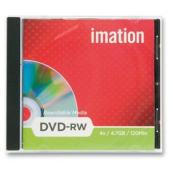 Obrázek produktu Přepisovatelné DVD  Imation DVD-RW- 4,7 GB - 1 ks