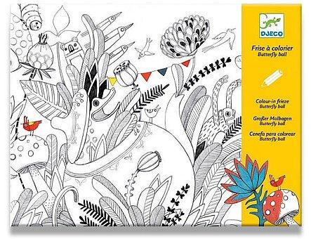 Obrázek produktu Maxi omalovánka Djeco - V zahradě