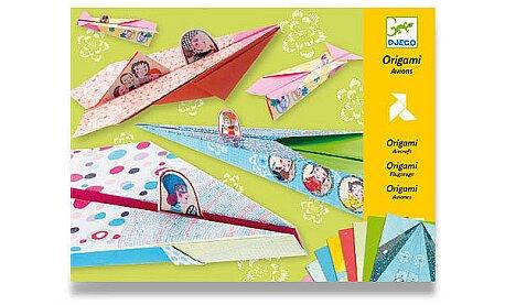 Obrázek produktu Origami sada Djeco - Letadla pro holky