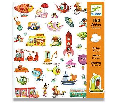 Obrázek produktu Samolepky Djeco - Na cestách