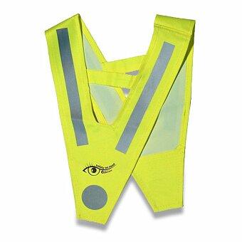 Obrázek produktu Dětská reflexní V vesta - žlutá
