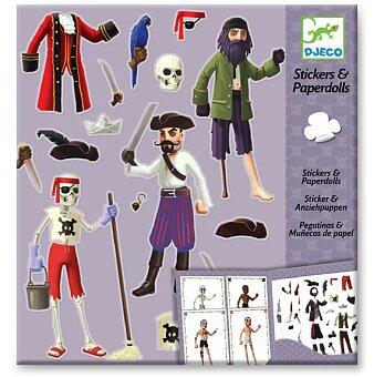 Obrázek produktu Samolepkový set Djeco - Piráti