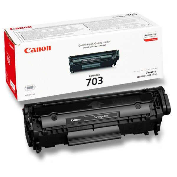 Toner Canon CRG-703 pro laserové tiskárny black (černý)