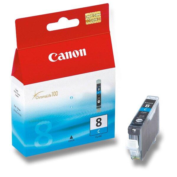 Cartridge Canon CLI-8 pro inkoustové tiskárny cyan (modrá)