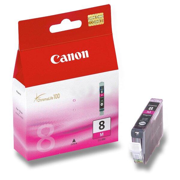 Cartridge Canon CLI-8 pro inkoustové tiskárny magenta (červená)