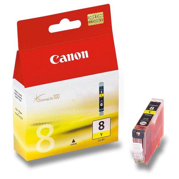 Cartridge Canon CLI-8 pro inkoustové tiskárny yellow (žluá)