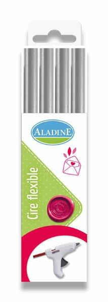 Pečetní vosk Aladine - výběr barev stříbrný