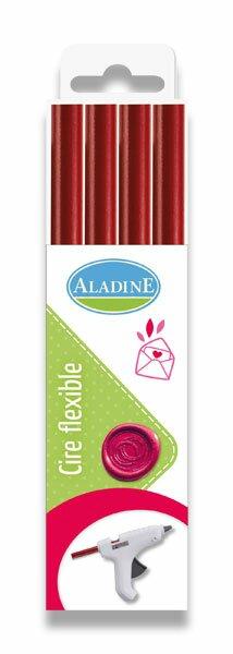 Pečetní vosk Aladine - výběr barev červený