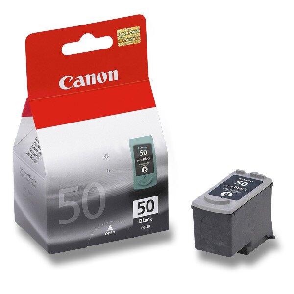 Cartridge Canon PG-50 pro faxy black (černá)