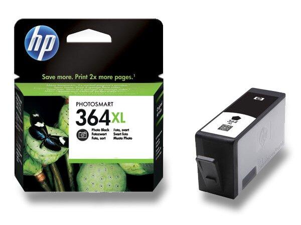 Cartridge HP CN684EE č. 364 XL pro inkoustové tiskárny black (černý)