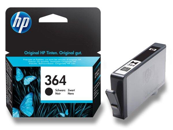 Cartridge HP CB316EE č. 364 pro inkoustové tiskárny black (černý)