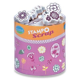 Obrázek produktu Razítka Stampo Scrap - Kytičky a ornamenty