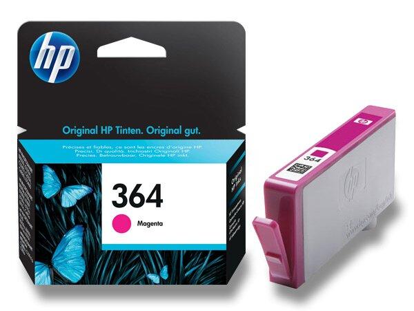 Cartridge HP CB319EE č. 364 pro inkoustové tiskárny magenta (červená)
