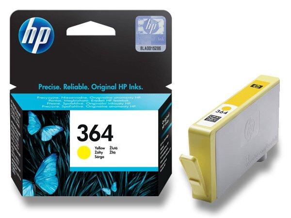 Cartridge HP CB320EE č. 364 pro inkoustové tiskárny yellow (žlutý)