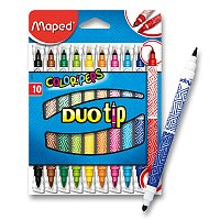 Dětské fixy Maped Color'Peps Duo Tip