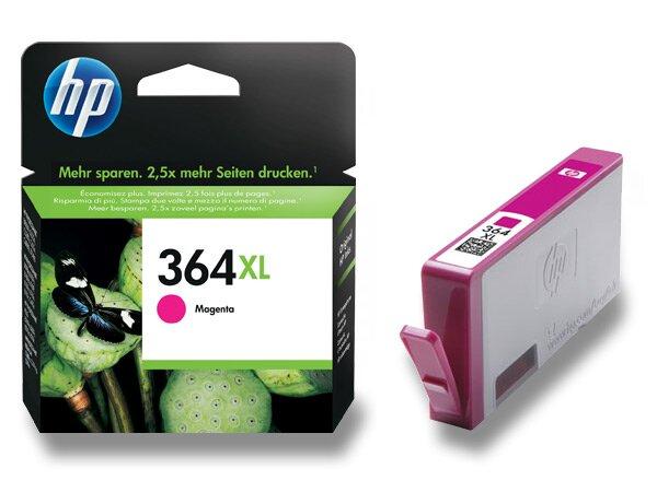 Cartridge HP CB324EE č. 364 XL pro inkoustové tiskárny magenta (červená)