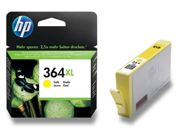 Cartridge HP CB325EE č. 364 XL pro inkoustové tiskárny yellow (žlutý)