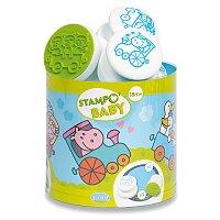 Razítka Aladine Stampo Baby - Vláček se zvířátky