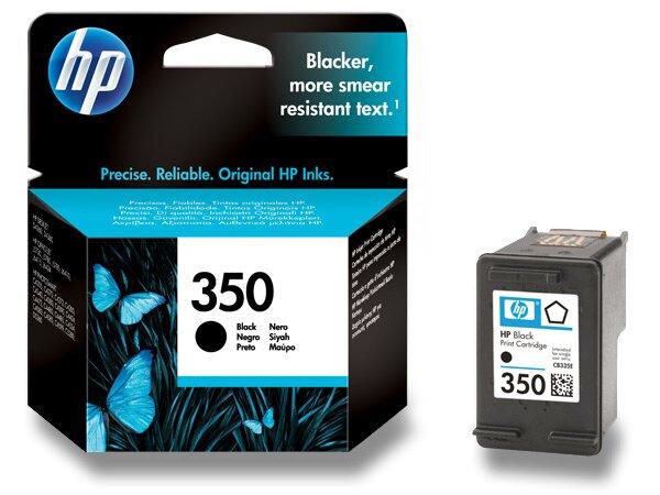 Cartridge HP CB335EE č. 350 pro inkoustové tiskárny black (černý)