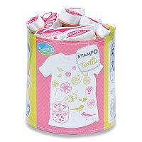 Razítka Stampo Textile - Kytičky