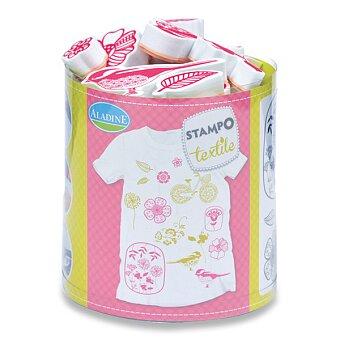 Obrázek produktu Razítka Stampo Textile - Kytičky