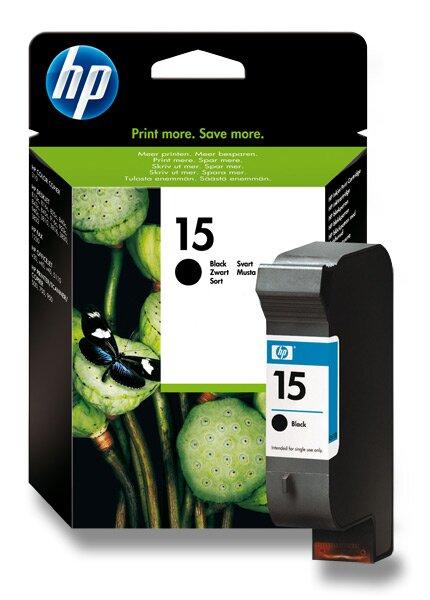 Cartridge HP C6615D č. 15 pro inkoustové tiskárny black (černý)