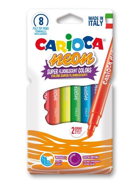 Fixy Carioca Neon 8 barev