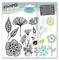 Razítka gelová Stampo Clear - Kytičky