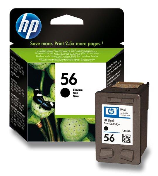Cartridge HP C6656AE č. 56 pro inkoustové tiskárny black (černý)