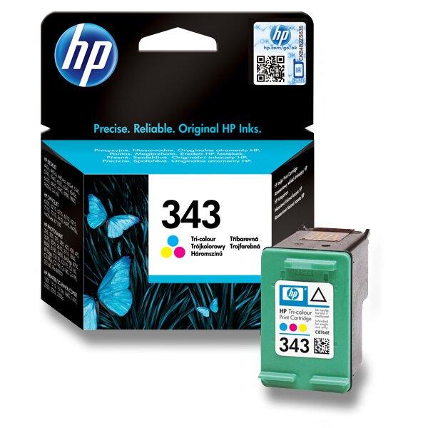 Cartridge HP C8766EE č. 343 pro inkoustové tiskárny color (barevná)