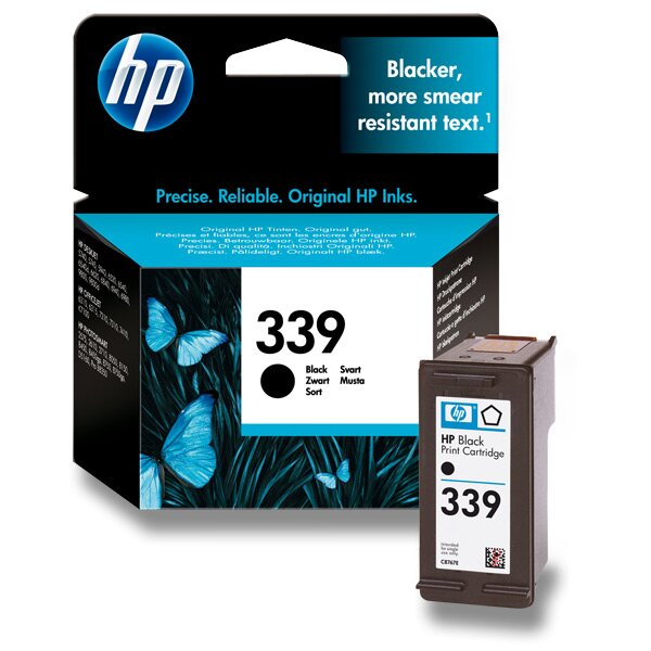 Cartridge HP C8767EE č. 339 pro inkoustové tiskárny black (černý)