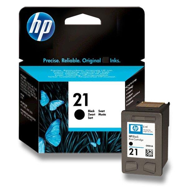 Cartridge HP C9351AE č. 21 pro inkoustové tiskárny black (černý)