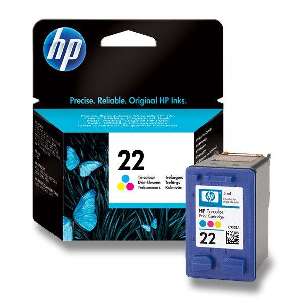 Cartridge HP C9352AE č. 22 pro inkoustové tiskárny color (barevná)