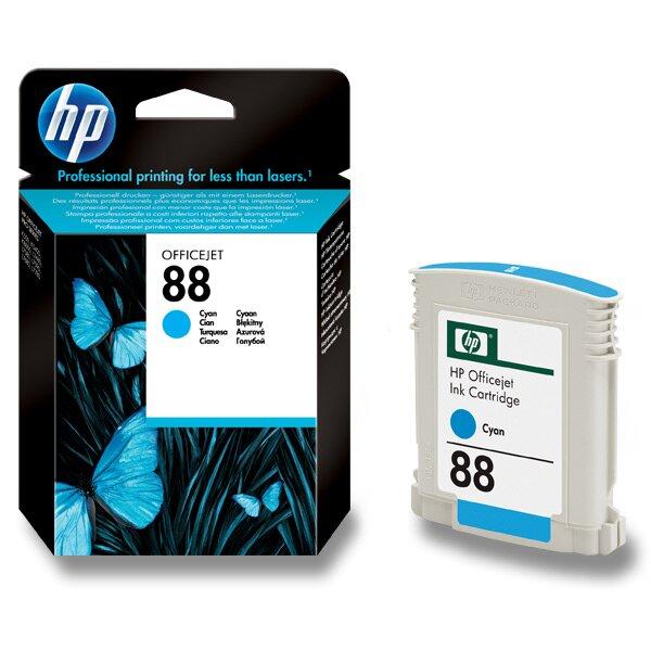 Cartridge HP C9386AE č. 88 pro inkoustové tiskárny cyan (modrý)