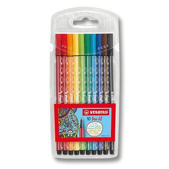 Obrázek produktu Fixy Stabilo Pen 68 - 10 barev