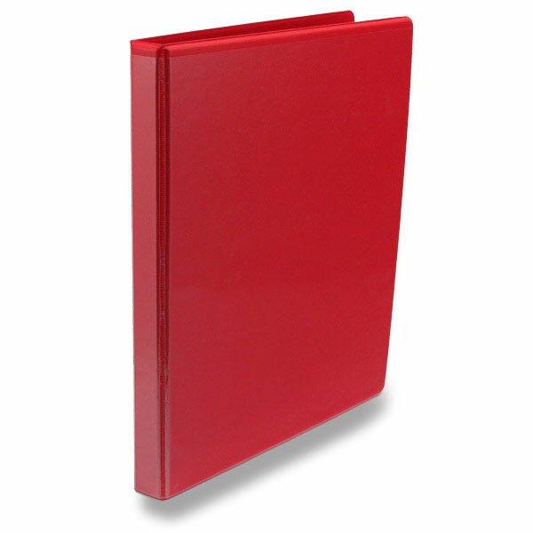 4-kroužkový pořadač Esselte červený