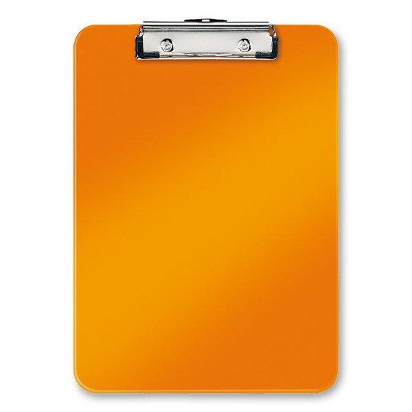 Psací podložka s klipem Leitz Wow oranžová