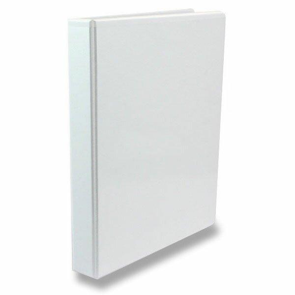 4-kroužkový pořadač Esselte plast, A4, 44 mm, bílý