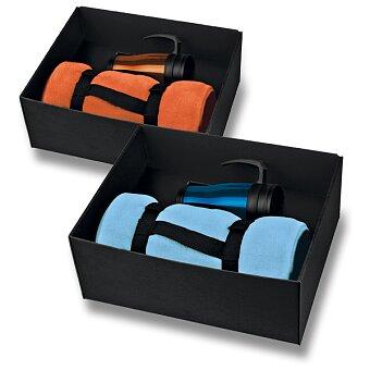 Obrázek produktu Campy - dárkový set deky a termohrnku, výběr barev