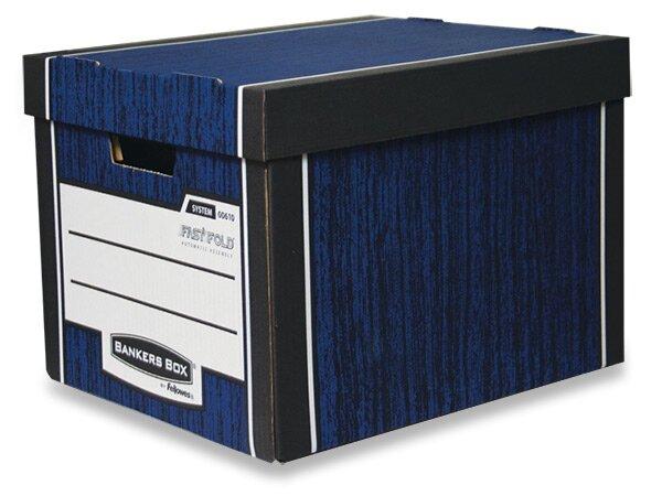 Úložná krabice Fellowes modrá