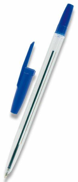 Kuličková tužka OA Express Stick jednorázová modrá