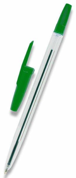 Kuličková tužka OA Express Stick jednorázová zelená