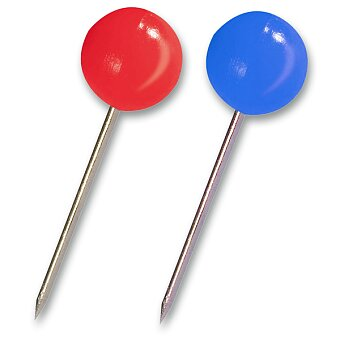 Obrázek produktu Špendlíky Maped barevné, malé - 100 ks